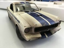 ACME 1:18 1965 FORD MUSTANG G.T 350 SHELBY DIRTY VERSION SOLD OUT 1 Of 102 Rare