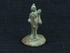 Antiqued Reproduction Vintage Greek Peloponnesian Miniature Bronze Statue Figure