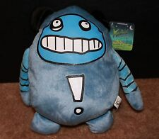 Blue X-CITE excite KREEBILS Monster Creature Alien From The Moon Plush NWT NEW