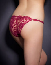 AGENT PROVOCATEUR CARMILLA BRIEF RED SIZE XLARGE / 5 / 14-16 BNWT