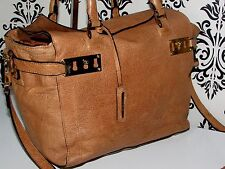 RIVER ISLAND VINTAGE LEATHER LARGE CROSSBODY SLOUCH BOHO TOTE SHOULDER/PURSE