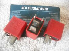 3 X GENUINE ALFA ROMEO 146 147 156 166  RELAYS  RED  A727 12V  30A  46520422