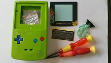 HOUSING POUR GAMEBOY COLOR POKEMON2 GREEN+COLOR BUTTON NEW
