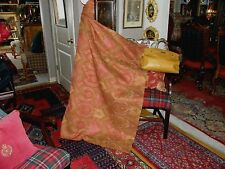 STUNNING (Very High End) Olive/Red/Gold Texture UPHOLSTERY and DRAPERY FABRIC!!