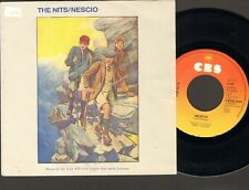 "NITS NESCIO Single 7"" Man of Straw 1983 NEDERPOP"