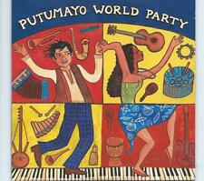 PUTUMAYO CD album - WORLD PARTY - OSIBISA LAID BACK LOS PINGUOS