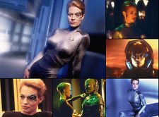 STAR WARS**  Voyager Seven of Nine images 5 Kodak prints 7/9 fun to see** Prop