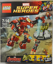 LEGO MARVEL SUPER HEROES TheHulkBuster Smash (76031) Age 7-14 SEALED NEW 2015 UK