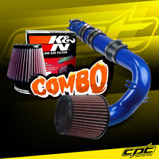 04-11 Mazda RX8 RX-8 1.3L Blue Cold Air Intake + K&N Air Filter