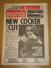 SOUNDS 1972 JUL 1 JOE COCKER DEEP PURPLE CAT STEVENS
