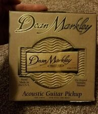 "Dean Markley Promag Plus Single Coil Acoustic Guitar Pickup ""Woody"" NIB"