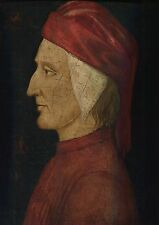 Dante Alighieri, Venetian School, 15th Century, oil on panel
