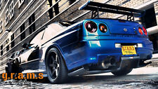 Nissan Skyline R34 Rear Diffuser / Undertray for Racing, Performance, Aero v4