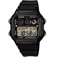 Casio AE-1300WH-1A2V Black Digital Sports Watch Retail Box Included
