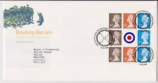GB ROYAL MAIL FDC FIRST DAY COVER BREAKING BARRIERS PRESTIGE PANE PHILATELIC