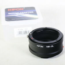 Kipon Nikon F AI-S mount lens to Leica SL mirrorless adapter Typ 601 T Typ 701