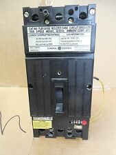 GE Circuit Breaker w/ Under Voltage Release TLB134100 100A 100 A Amp 3P 480 VAC
