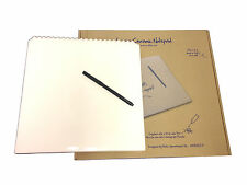 Addject Wipeable Ceramic Large Size Memo Writing Pad NotePad with Pen 29 x 30CM