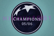 UEFA Champions League Winner 2005-2006 Barcelona Sleeve Soccer Patch / Badge