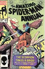Marvel Amazing Spider-Man Vol One (1963 Series) Annual #18 VF- 7.5