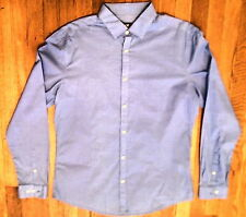 NWT H & M, Blue Light Weight Cotton, Long Sleeve Shirt Size Large (130)