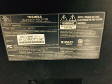 Toshiba 65HT2U 65-Inch HDTV MAIN BOARD/POWER SUPPLY/CABLES & MORE, FREE S&H