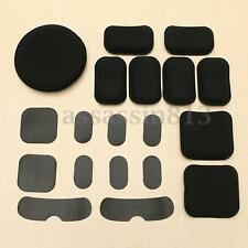 Lot Of 19 Airsoft Memory Foam Pad Cushion For Tactical Military Helmet Outdoor