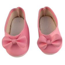 Pink Fine Handmade Fashion Shoes For 16Inch Girl Doll Shoes Baby Doll Gift Set