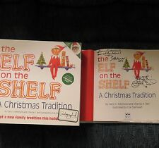 SIGNED BOTH BELL&AEBERSOLD*The Elf on the Shelf-a Christmas Tradition:Boy Light*