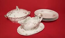 Vintage CH Field Haviland Limoges CFH GDM France ~ Set of 5 Serving Pieces NICE!