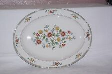 "Royal Doulton Kingswood 16"" Bone China Meat Dish Serving Platter Plate 1st"