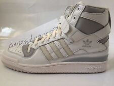 New Adidas Forum Hi OG Leather Sneakers Size 11.5 Onyx Granite S79221