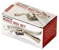Mechanical Music Musical Steel Box Set Make Your Own Music Kikkerland 1200