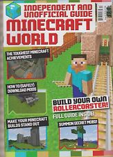 MINECRAFT WORLD MAGAZINE #13 2016, INDEPENDENT& UNOFFICIAL GUIDE.