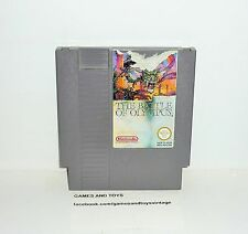 JEU NINTENDO NES SANS BOITE THE BATTLE OF OLYMPUS