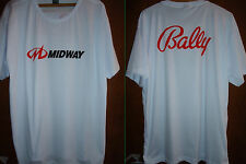 T-SHIRT - BALLY MIDWAY  - Nintendo 64 Dreamcast Playstation XBox - Retro Gaming