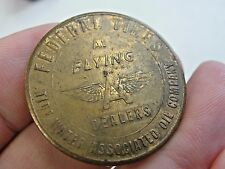 Vintage Federal Tires Token Medal Coin Good for Long Safe Ride Tide Water Oil