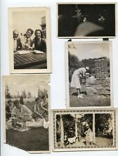 ANTIQUE PHOTOS OF OUTDOOR ACTIVITIES, CAMPING, PICNICS AND ADVENTURE.