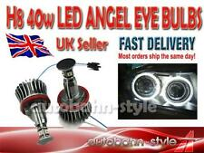 BMW X6 E71 2008- 40W CREE BMW H8 LED ANGEL EYES UPGRADE FANTASTIC COLOUR 6000K