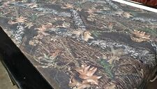 "Mossy Oak Break Up Flock Velvet Sueded Upholstery Camo Fabric BTY 52"" Wide Soft"