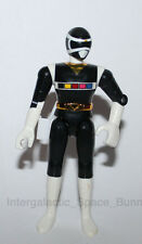 "Bandai Power Rangers In Space Black Ranger 4.5"" Action Figure #2"
