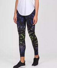 Nike PRINTED ENGINEERED WORKOUT STAY WARM Training Tights SZ S 695499-455 $150