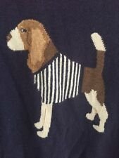Joules Of London Beagle Dog Intarsia Sweater Euc 6 Was $138