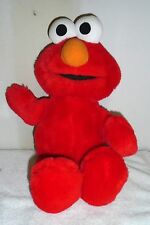 "TALKING  ELMO  PLUSH  DOLL   ABOUT  19"" TALL"
