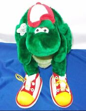 """Turtle plush snappy Russ shoes hat cap toy sneakers 12"""" reptile amphibian"""