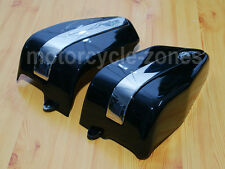 Motorcycle Black Side Fairing Battery Cover For Honda Rebel CA250 CMX250 96-05