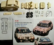 1/43 KIT FIAT RITMO 130 TC ABARTH RALLY VALLI OSSOLANE 1986