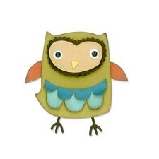 Sizzix Thinlits OWL die cut - 9 pack - 659909 - NEW