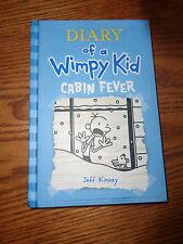 Diary of a Wimpy Kid - Cabin Fever by Jeff Kinney - Hardcover - Book #6