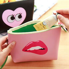 Fashion Cute Cosmetic Makeup Bag Purse Toiletry Bag Pouch Pencil Case Organizer